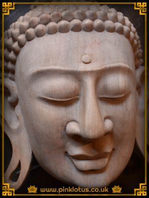 Shakyamuni Buddha Face Wooden Mask
