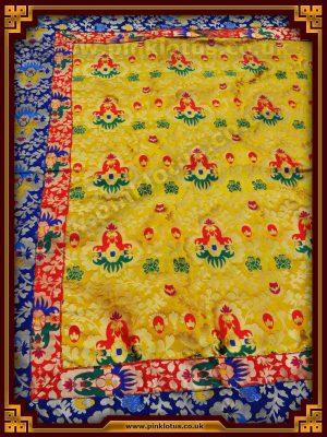 Tibetan Buddhist Altar Cloth Silk Brocade