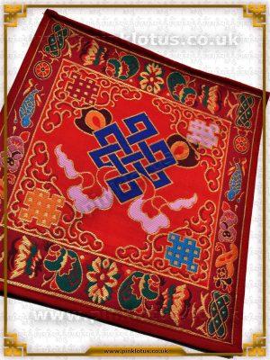 Tibetan Buddhist Altar Cloth Endless Knot