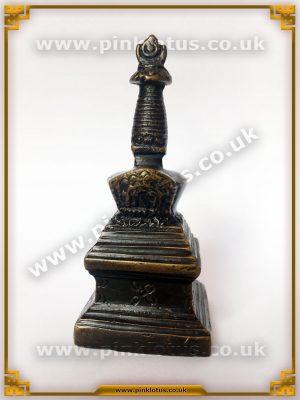 Tibetan Buddhist Stupa Brass