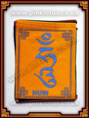 Om Mantra Tibetan Buddhist Prayer Flags