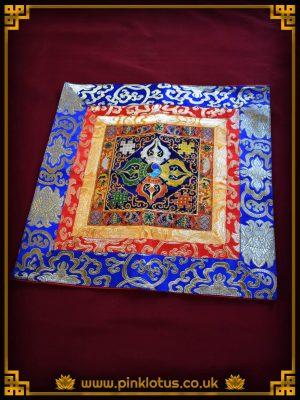 Double Dorje Vajra Tibetan Buddhist Altar Cloth