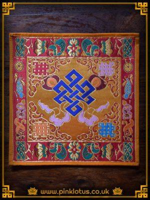 Endless Knot Silk Tibetan Buddhist Altar Cloth