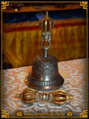 Dzogchen Tibetan Buddhist Bell Dorje Vajra