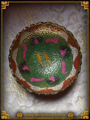 Tibetan Buddhist Offering Bowl